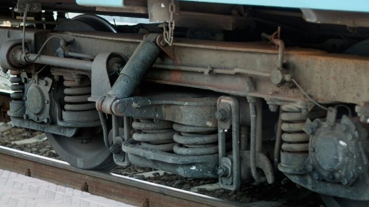 Курганец скинул 183 килограмма чермета из грузового вагона