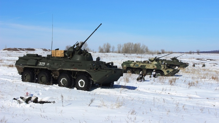 Полтысячи военных научились отбивать атаку террористов на часть под Новосибирском