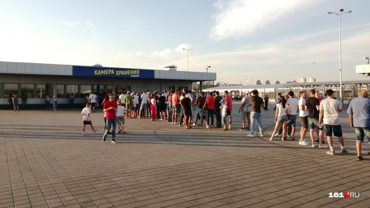 ФК «Чайка» извинился перед болельщиками за километровую очередь на матч
