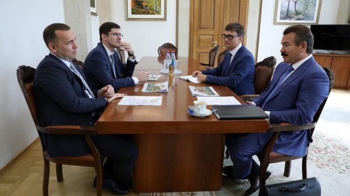 Шумков предложил крупной инвестиционной компании Сибири преференции под инвестпроекты