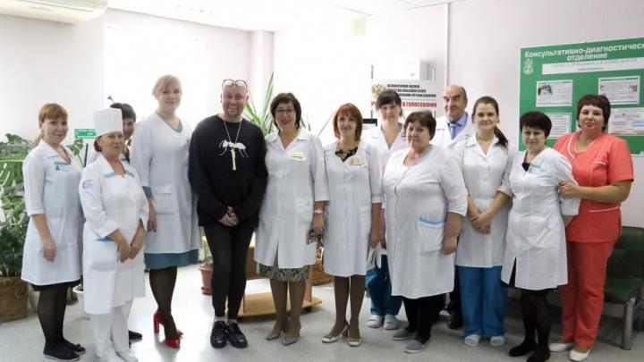 Певец Шура приехал на лечение в курганский Центр Илизарова