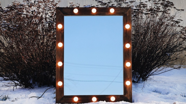 Свет и зеркальце