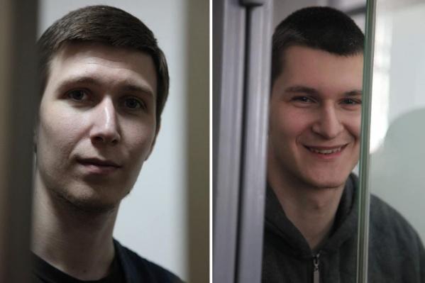 Ранее несколько правозащитных организаций признали Влада Мордасова (слева) и Яна Сидорова узниками совести