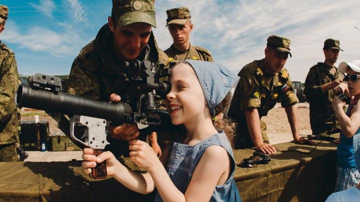 БТР, «Тайфун», «Рысь» и «Тигр»: тюменцев приглашают на выставку военной техники