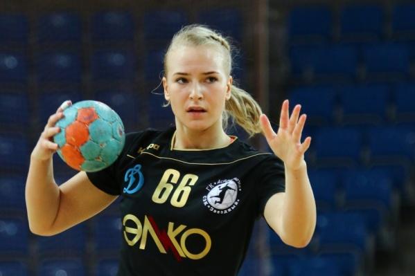 Ирина Никитина играла за «Астраханочку» в 2014–2015 годах