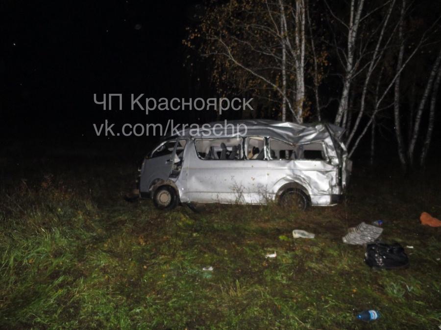 ВКрасноярске вДТП сучастием коровы имикроавтобуса умер человек