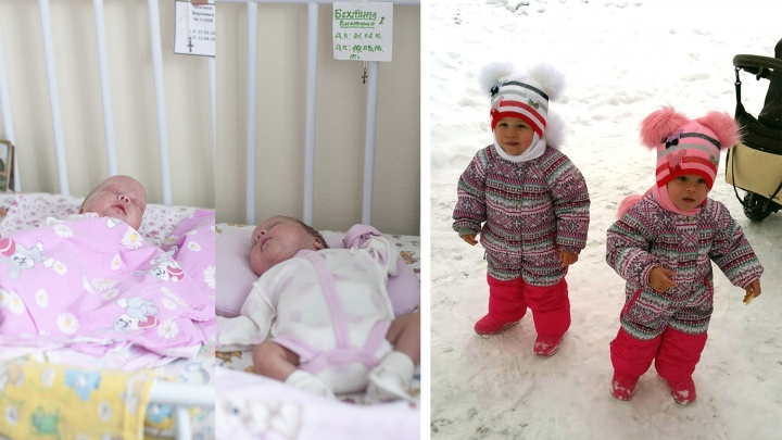«Уже в садик просятся»: как живут новосибирские двойняшки, родившиеся на 3 месяца раньше срока