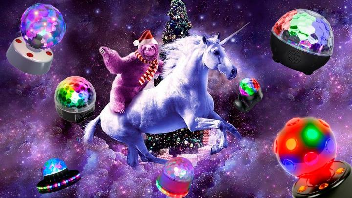 Назад в 80-е: нашли диско-шары, которые сделают новогоднюю вечеринку ещё круче