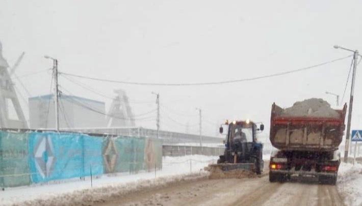 Непогода не пройдет:в Котельниково мобилизовали ресурсы для ликвидации последствий снегопада