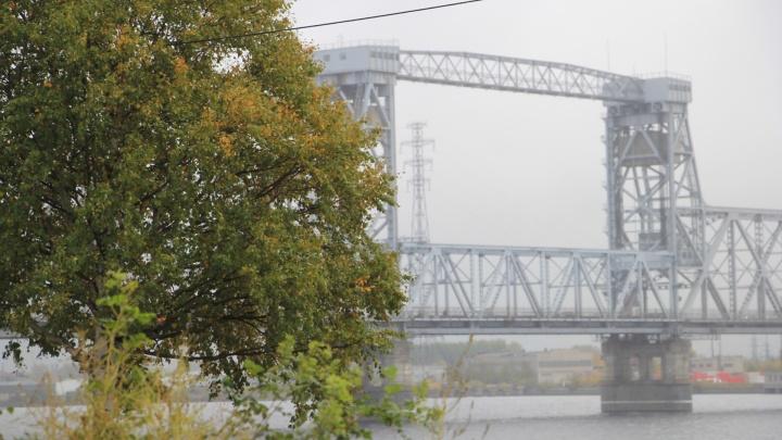 Ночное движение по железнодорожному мосту в Архангельске закроют до конца года