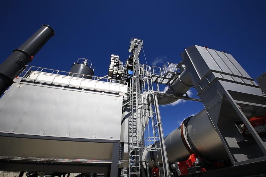 Мощность нового завода в два раза выше существующих — до 240 тонн в час