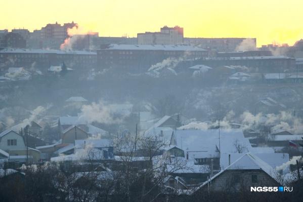 Морозы отступят лишь на один день — в среду в Омске немного потеплеет