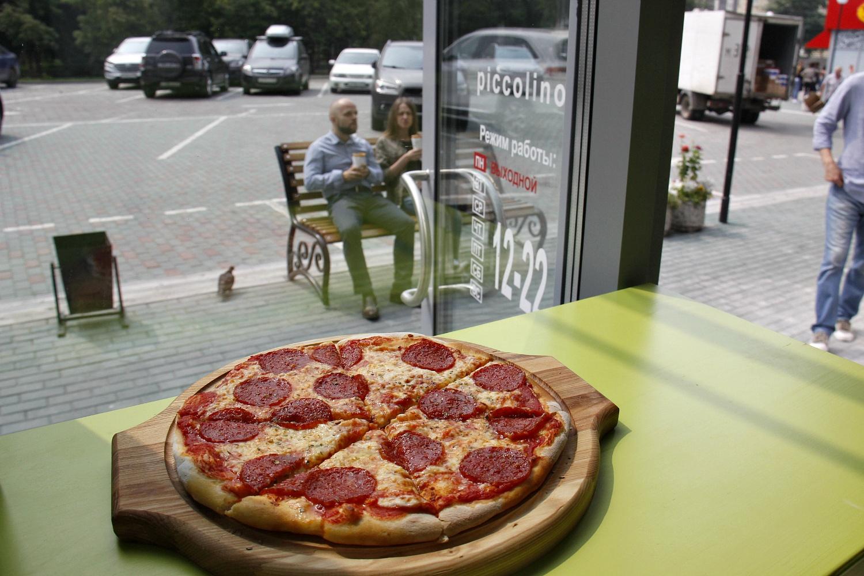 Пицца пеперони за 300 рублей из Piccolino