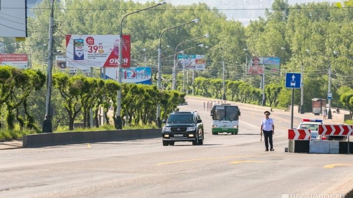 Пару инспекторов на Коммунальном мосту меняют на камеру видеофиксации