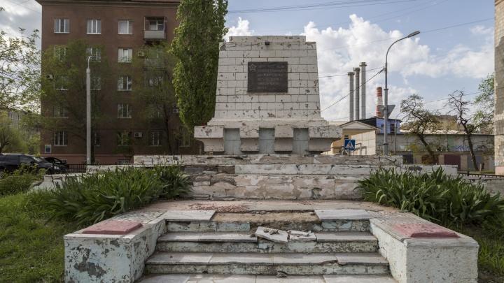Братская могила советских солдат в Волгограде встретит День Победы в разрушенном виде