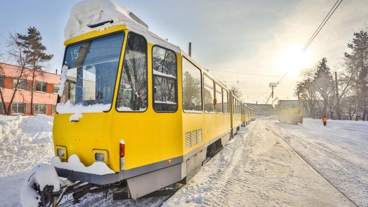 Жители Станиславского жилмассива час не могли дождаться трамвая