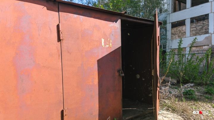 В Самаре на улице Советской Армии выставили оцепление из-за найденного в гараже «снаряда»