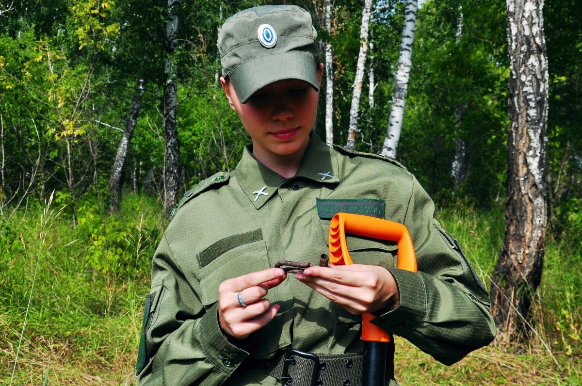 Минувшие выходные поисковый отряд провёл вблизи села Долгодеревенское