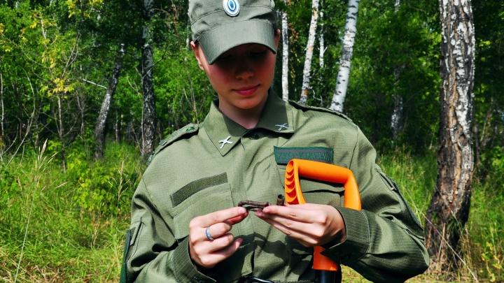 Поисковики нашли под Челябинском гильзы времён Колчака