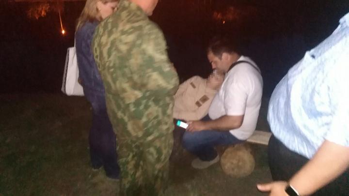 Во время салюта в парке 30-летия ВЛКСМ пострадал мальчик
