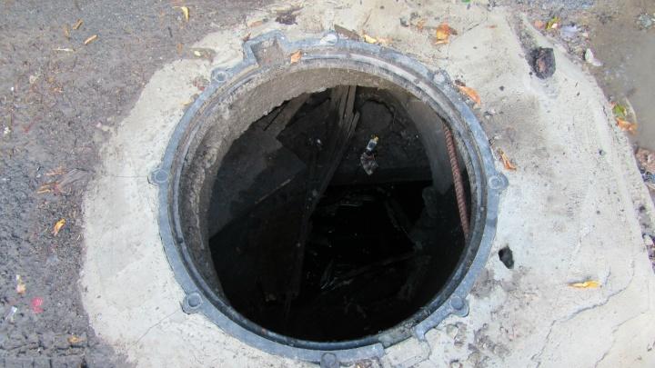 Это рекорд: в Кургане за два дня «Водный союз» не досчитался восьми крышек от канализационных люков