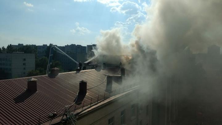 В Волгоградском аграрном университете локализовали пожар