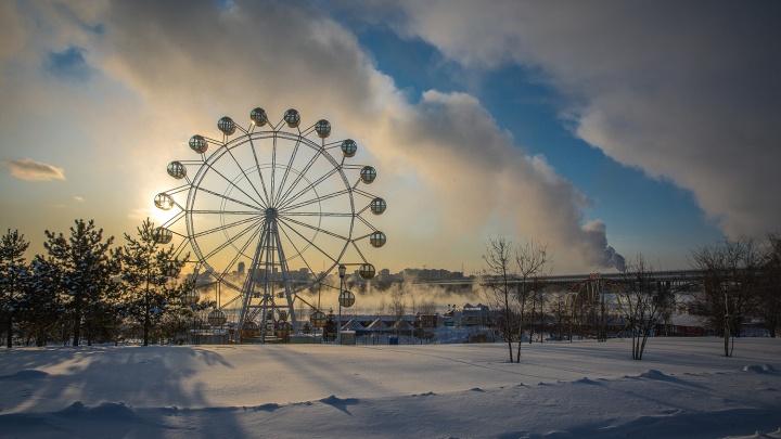 На выходных в Новосибирской области ударит мороз до –18 градусов