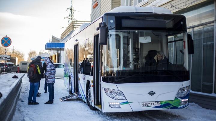 На маршрут в центре Новосибирска выйдет маленький автобус из Татарстана