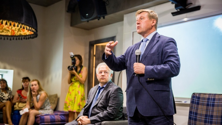 Пять лет не срок: Локоть объявил об участии в выборах мэра Новосибирска