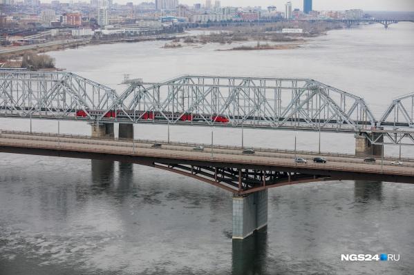 Все произошло на 4 мосту