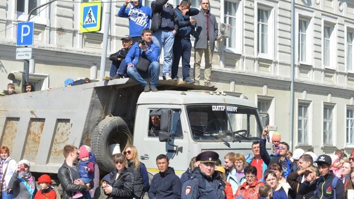Екатеринбуржцы увидят парад Победы: мэрия пообещала больше не перекрывать 9 мая все тротуары