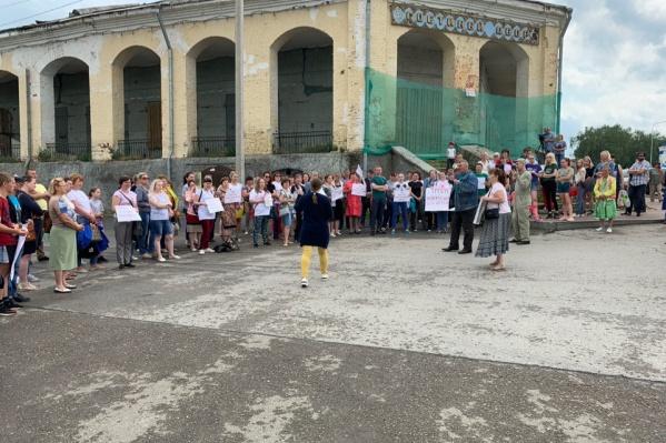 Митинг разрешили провести у Гостиного Двора в Кунгуре