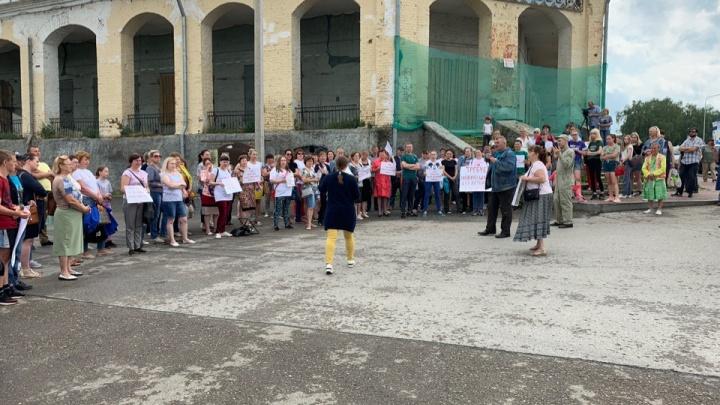 После митинга за сохранение школы мэр Кунгура пригласил родителей детей-инвалидов на встречу