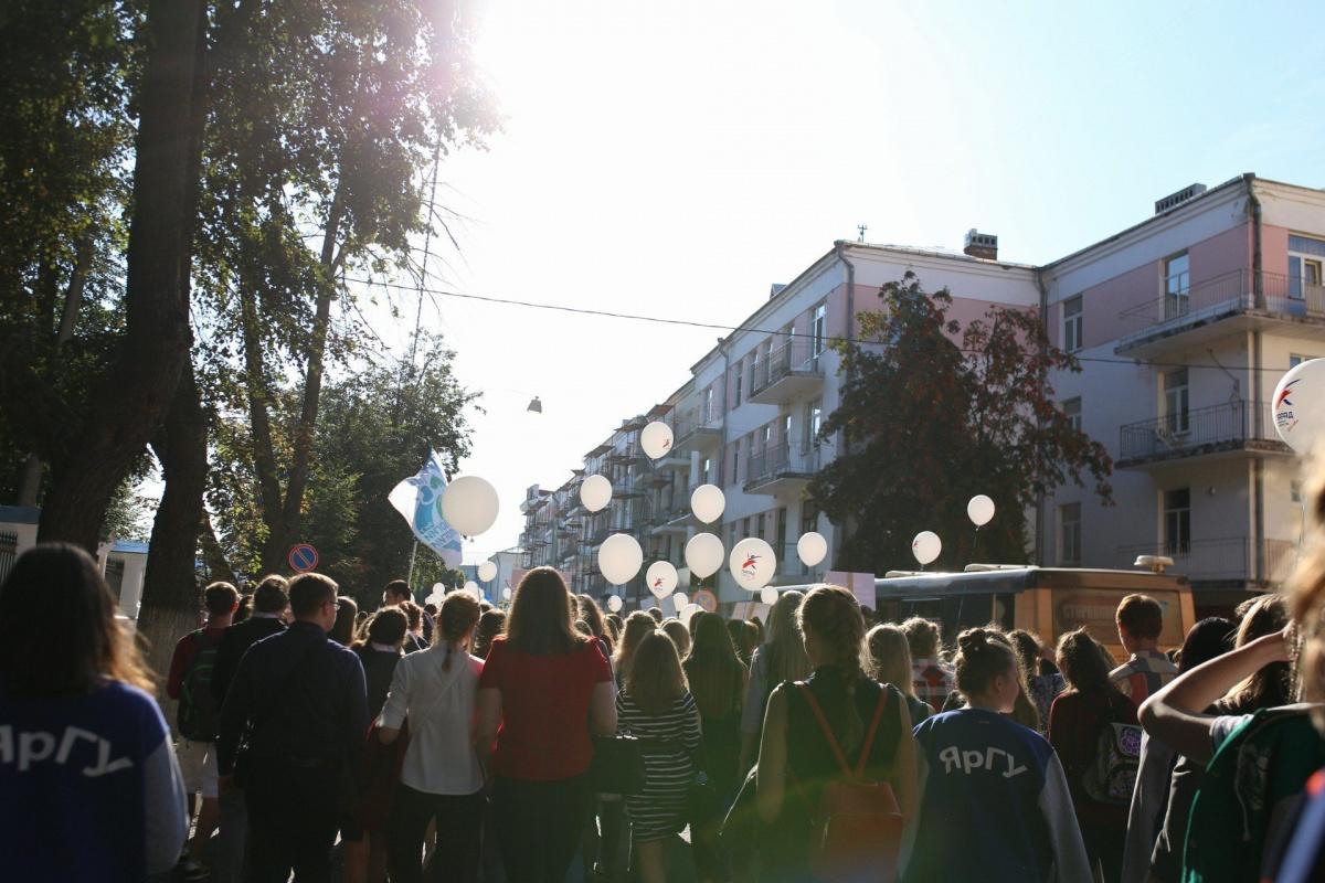 1сентября из-за парада студентов перекроют центр Ярославля