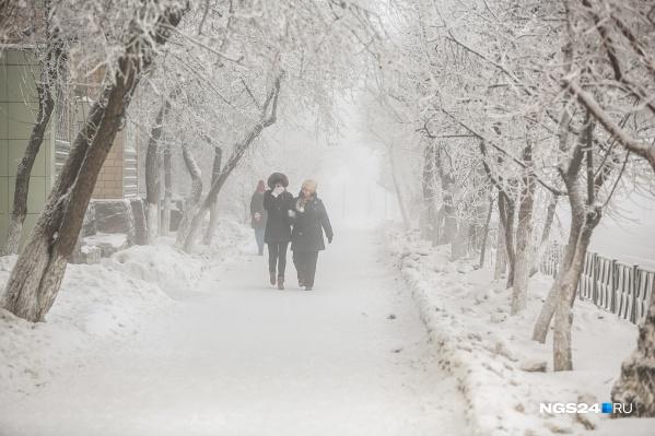 Самые холодные дни на неделе — 5 и 6 декабря