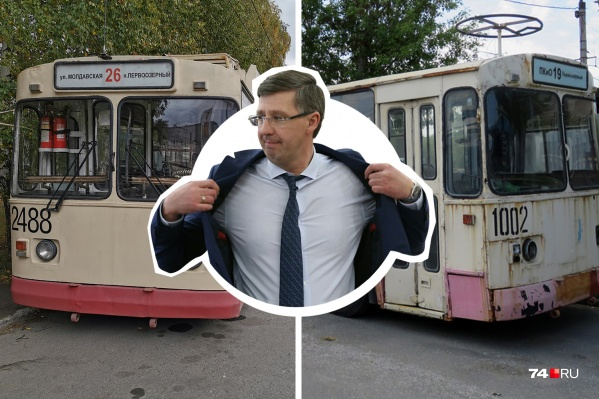 По словам сотрудников «ЧелябГЭТа», автопарк разваливается на глазах, а обещания директора Александра Павлюченко остаются лишь обещаниями
