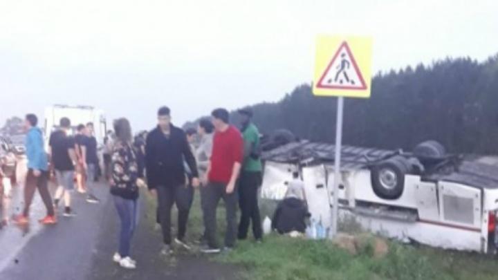 Два человека остаются в Уфе в тяжелом состоянии после ДТП с автобусом из Татарстана