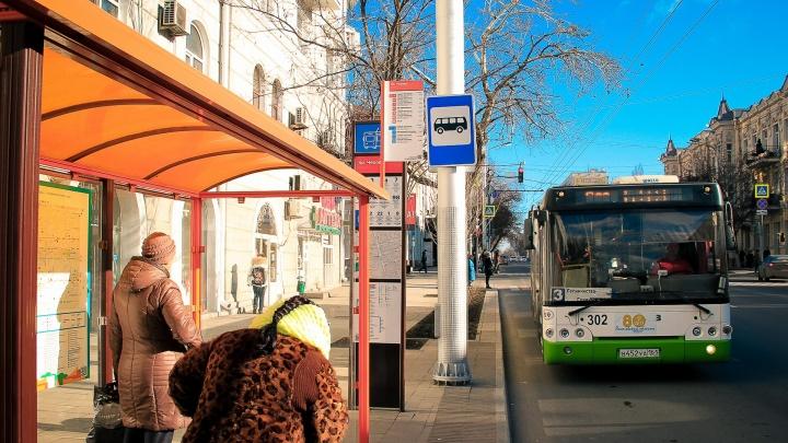 Ростовский блогер посчитал трещины на стеклах автобусных остановок