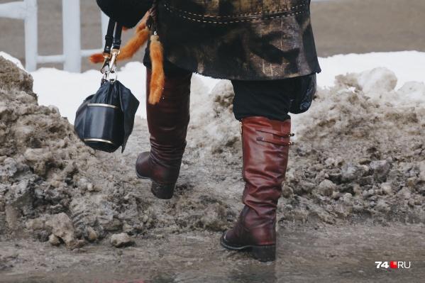 Пешая прогулка в Челябинске не для слабых людей