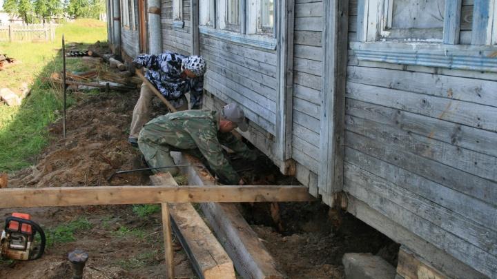 Активисты посёлка в Кенозерье собрали деньги на новый дом культуры с помощью краудфандинга
