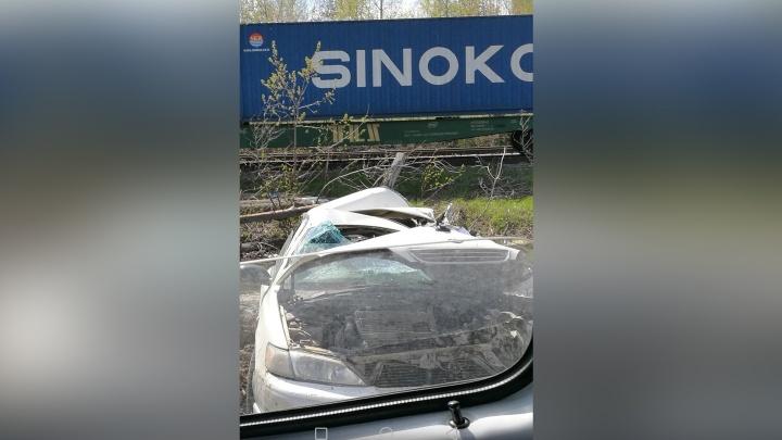 Пассажир «Тойоты» погиб после столкновения со встречным КАМАЗом недалеко от Пашино