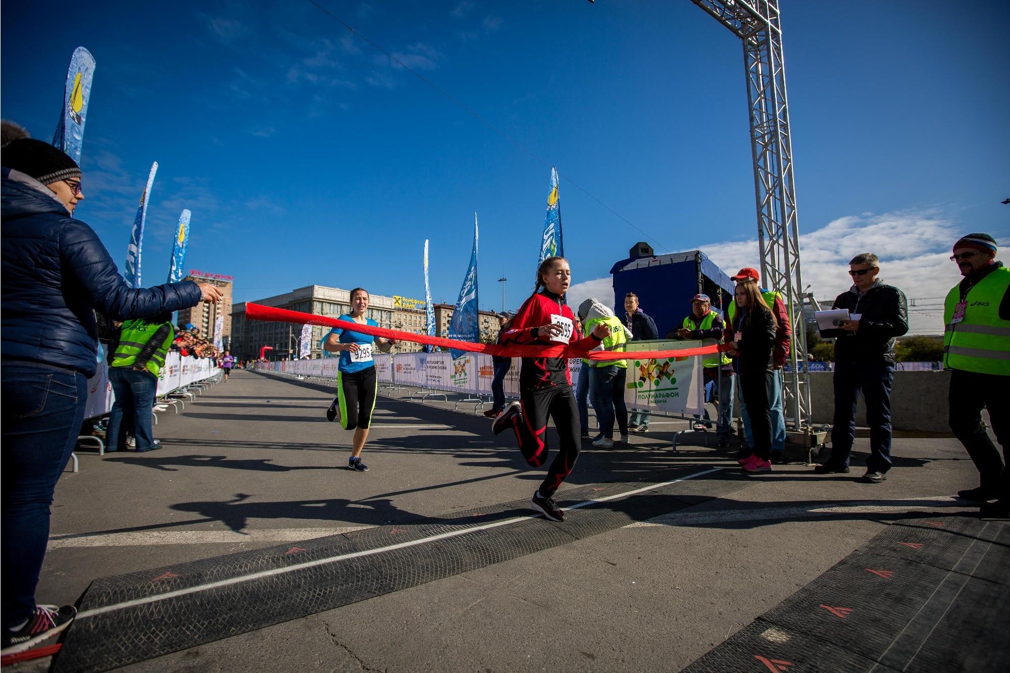 На финише первого забега. Фото Александра Ощепкова