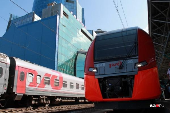 Летом на маршруте тестировали скоростной поезд «Ласточка»