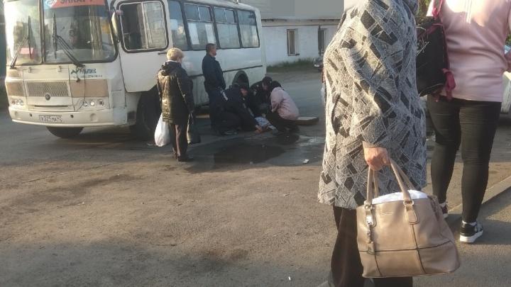 В Кургане водитель автобуса умер за рулем