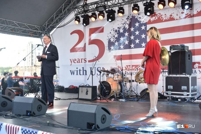 Гостей приветствовал консул США в Екатеринбурге Пол Картер
