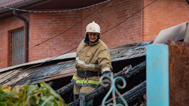 С начала октября на Дону в пожарах погибли семь человек