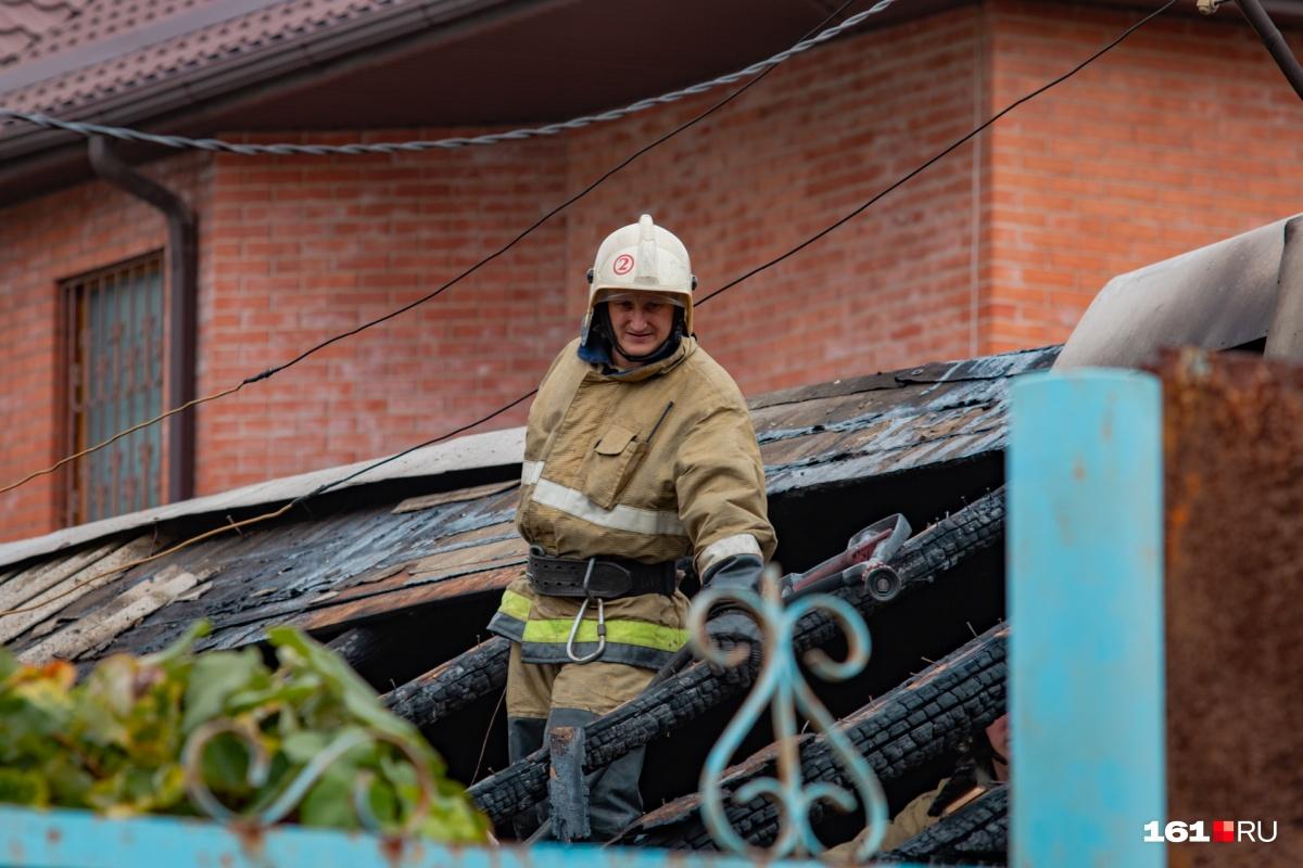 С начала месяца пожары на Дону стали происходить чаще