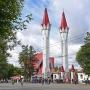Соборнаямечеть«Ляля-Тюльпан» в Орджоникидзевском районе Уфы
