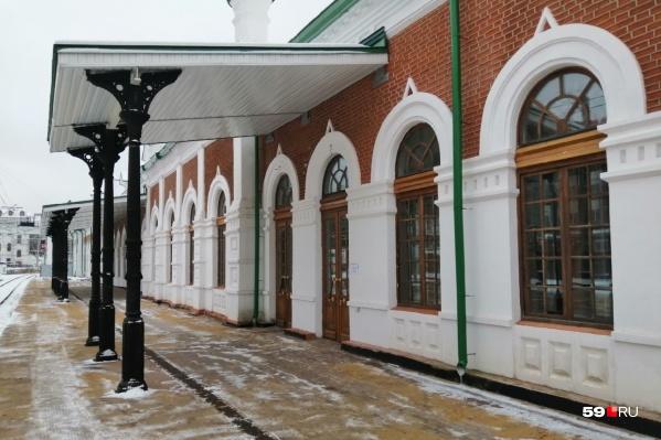 В здании вокзала наПерми I недавно вновь заработал зал ожидания