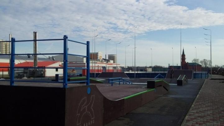 В Кургане открывают спортивный городок в Молодёжном парке